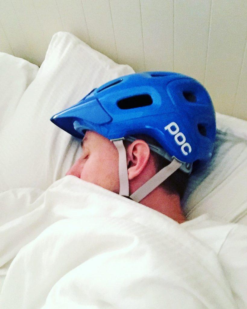 POC helmet bed