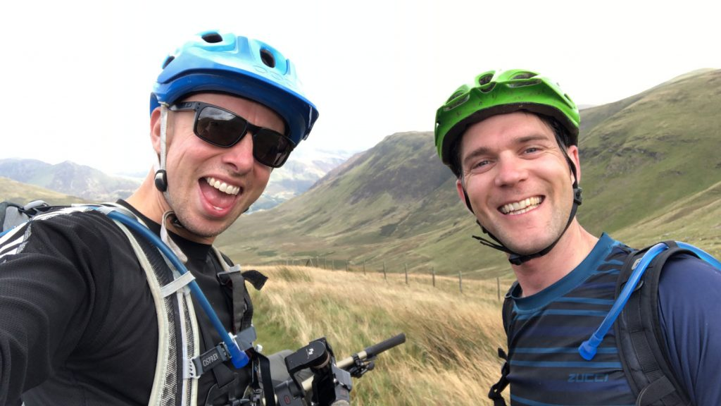 lake district bike packing